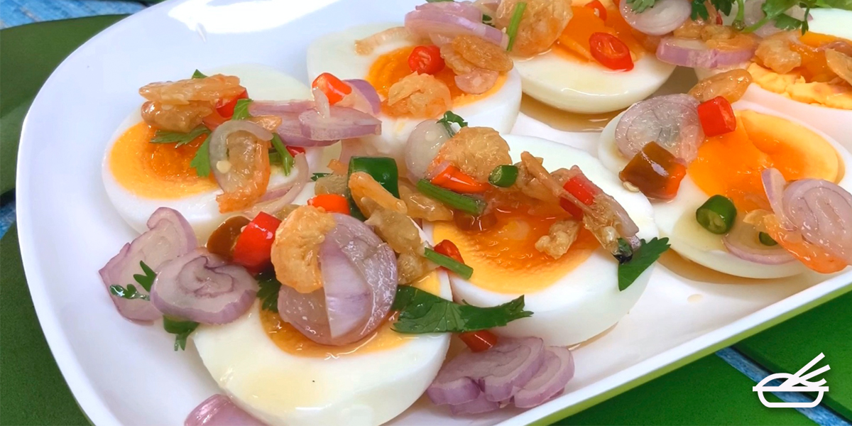 อาหารคลีนแบบไข่ ๆ เมนูไข่ยำแซ่บ ทำง่าย แซ่บถึงใจ