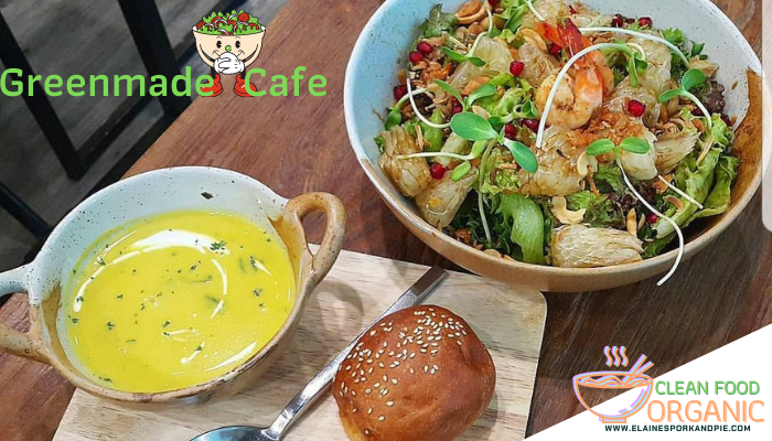 ร้าน Greenmade Cafeรานอาหารเพื่อสุขภาพ ร้านที่ยึดเรื่อง healthy and delicious เป็นหลัก อาหารแต่ละจานจึงต้องมีสีเขียวอยู่ในนั้น Made ทำด้วยใจ